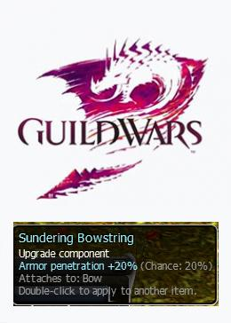 Cheap Guild Wars Pre-Searing Items Sundering Bowstring