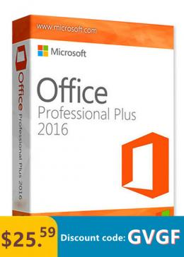 Cheap Software  Office2016 Professional Plus Global CD Key(Mid Month Sale)