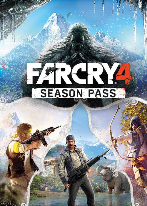 Cheap Uplay Games  Far Cry 4 Season Pass Uplay CD Key