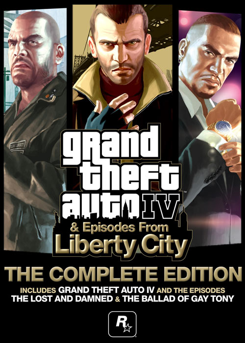 Cheap Steam Games  Grand Theft Auto IV: Complete Steam CD Key