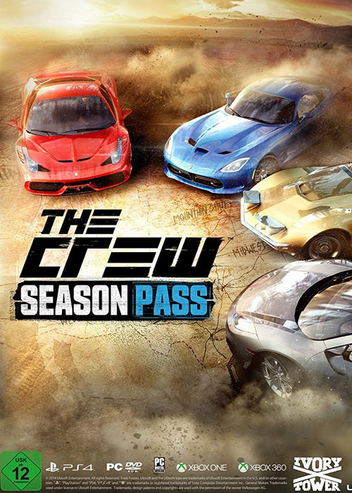 Cheap Uplay Games  The Crew Season Pass Uplay CD Key