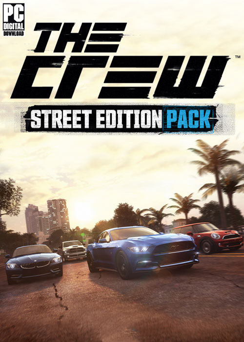 Cheap Uplay Games  The Crew Street Edition Pack DLC Uplay CD Key
