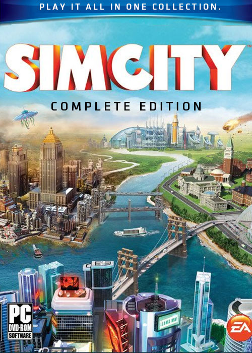 Cheap Origin Games  simCity Complete Edition Origin CD Key