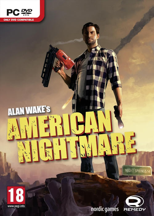 Cheap Steam Games  Alan Wake's American Nightmare Steam CD Key