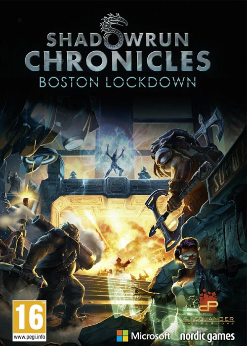 Cheap Steam Games  shadowrun Chronicles Boston Lockdown Steam CD Key
