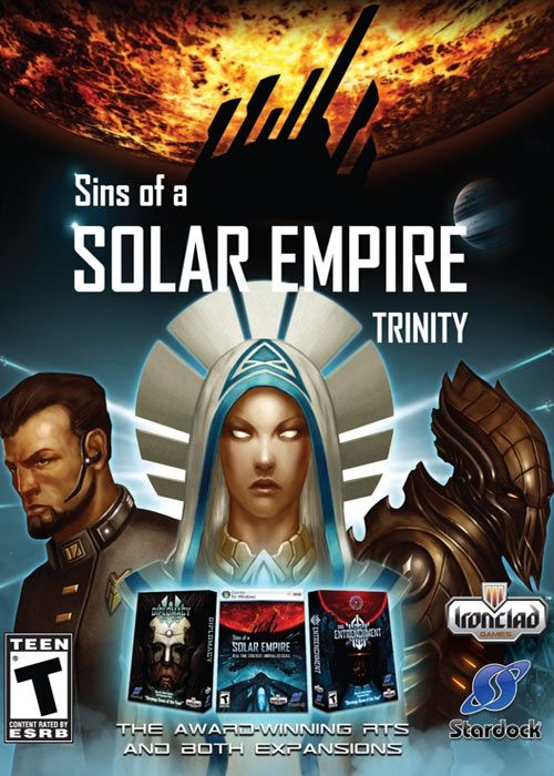 Cheap Steam Games  sins of A Solar Empire Trinity Steam CD Key