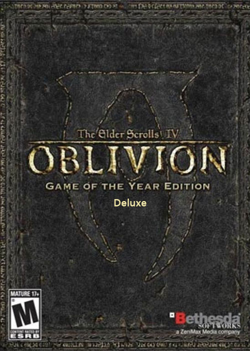 Cheap Steam Games  The Elder Scrolls IV Oblivion GOTY Edition Deluxe Steam CD Key
