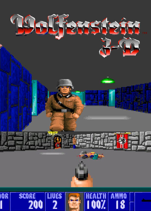 Cheap Steam Games  Wolfenstein 3D Steam CD Key