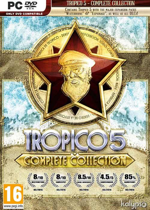 Cheap Steam Games  Tropico 5 Complete Collection Steam CD Key