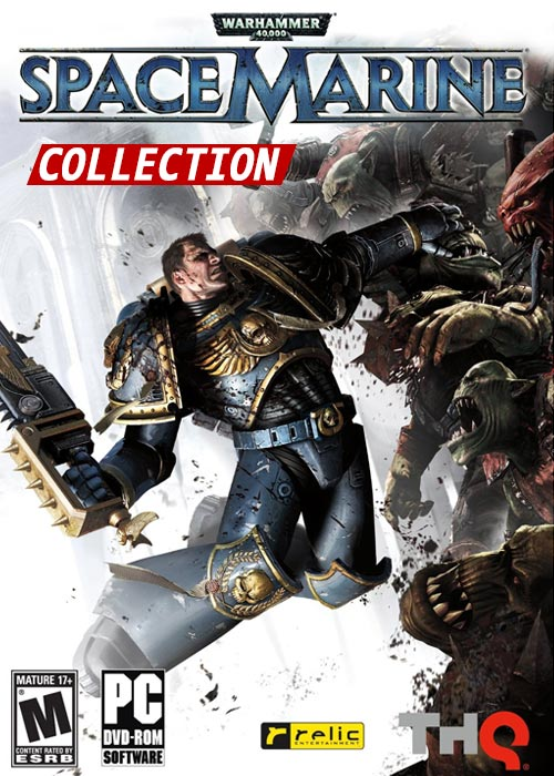 Cheap Steam Games  Warhammer 40000 Space Marine Collection Steam CD Key
