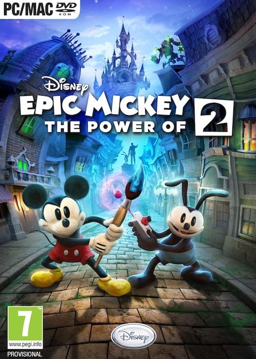Cheap Steam Games  Disney Epic Mickey 2: The Power of Two Steam CD Key