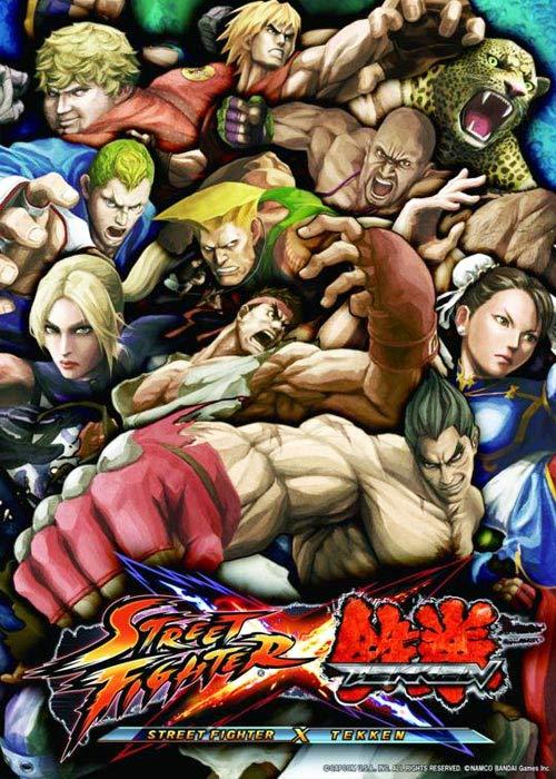 Cheap Steam Games  street Fighter X Tekken Steam CD Key
