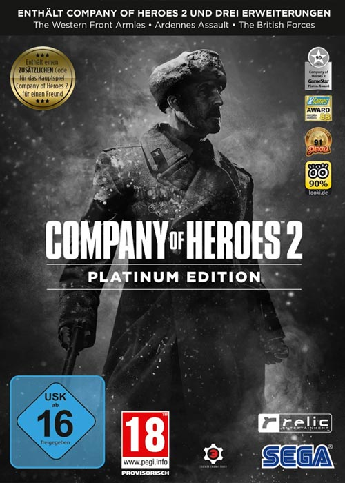 Cheap Steam Games  Company Of Heroes 2 Platinum Edition Steam CD Key