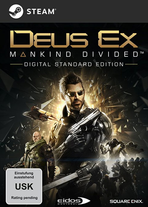 Cheap Steam Games  Deus Ex Mankind Divided Steam CD Key
