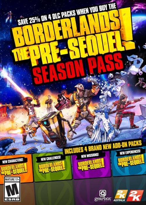 Cheap Steam Games  Borderlands Pre Sequel Season Pass Steam CD Key