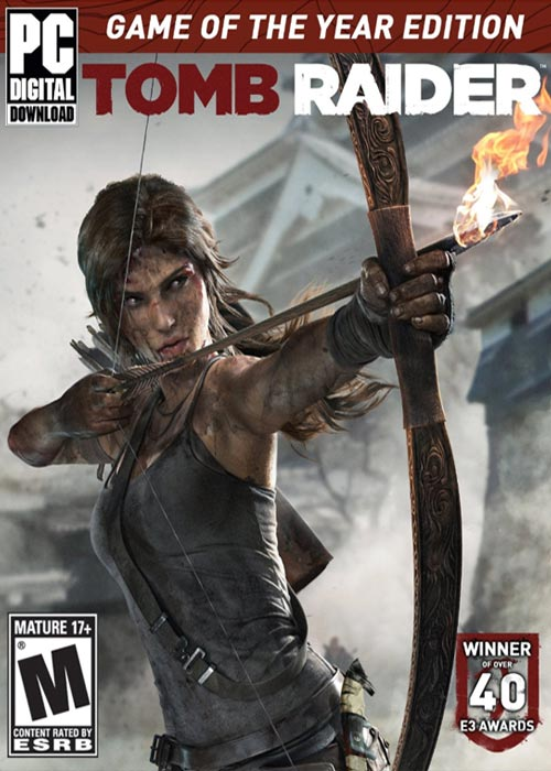 Cheap Steam Games  Tomb Raider GOTY Edition Steam CD Key