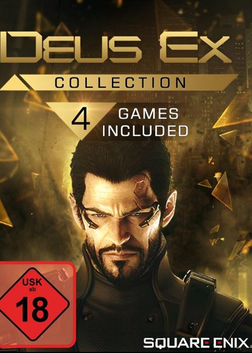 Cheap Steam Games  Deus Ex Collection Edition Steam CD Key