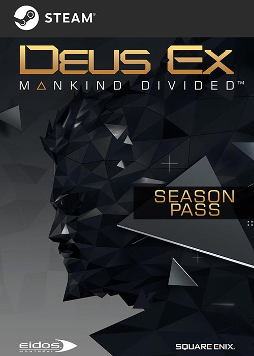 Cheap Steam Games  Deus Ex Mankind Divided Season Pass DLC Steam CD Key