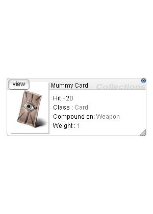 ZBPK-07 Mummy Card *30