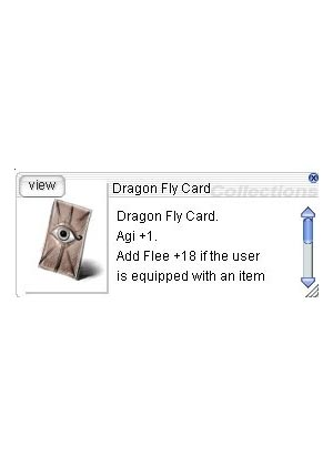 Cheap Ragnarok Online(US) Chaos ZBPK-24 Dragon Fly Card *30