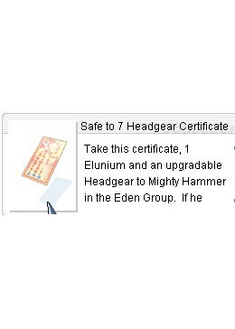 Safe to 7 Body Armor Certificate *70