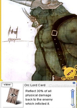 Orc Lord Card
