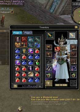 Cheap Silkroad Online Flora ZB9345 Lv120 Account