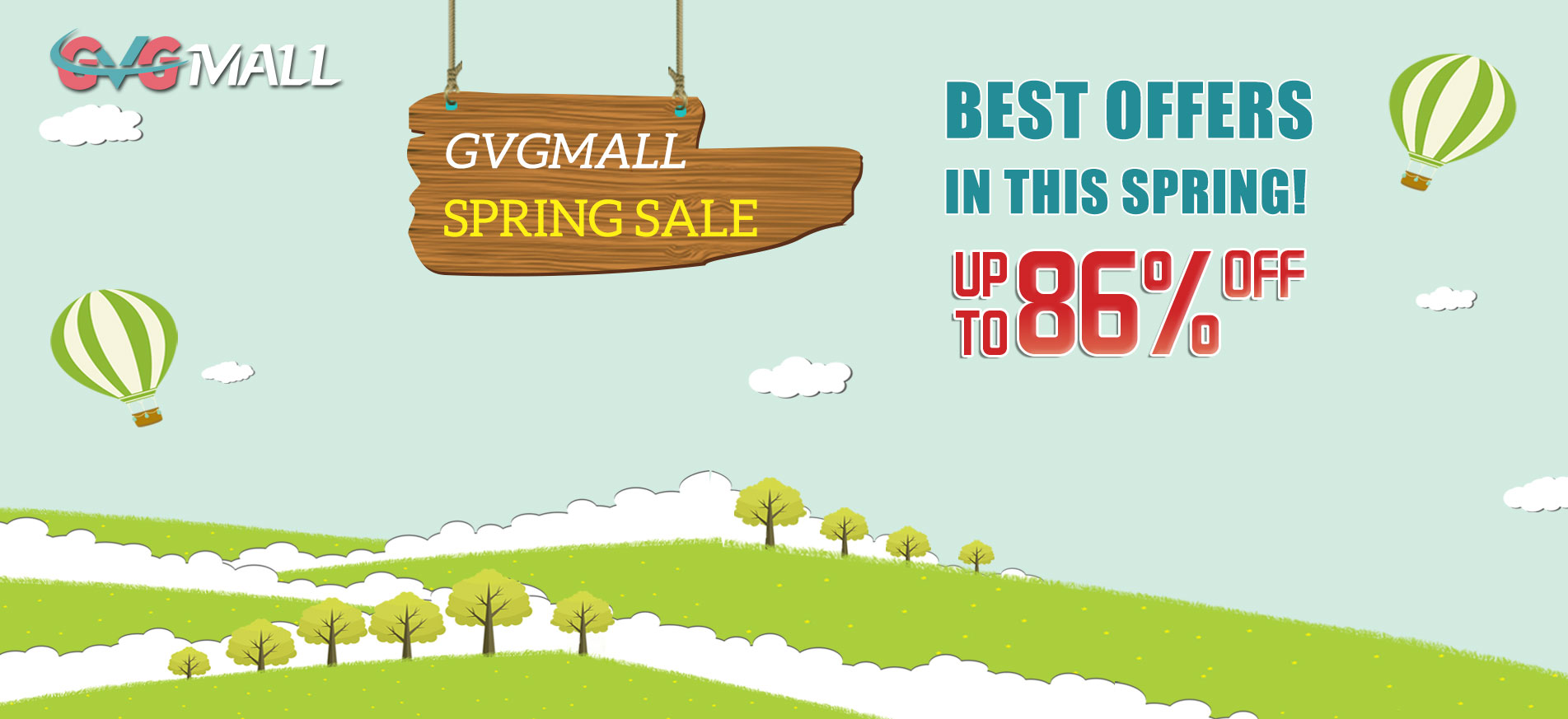 GVGMALL Spring Sale